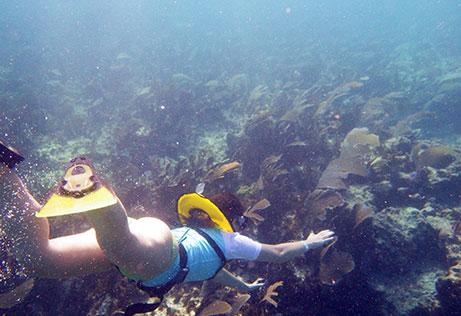 family snorkeling avanzado