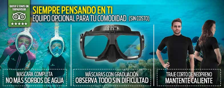 Mascaras Snorkeling