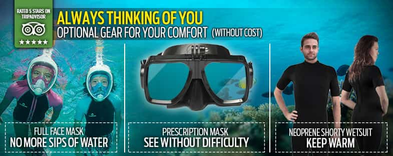 Prescription Mask´s Snorkel