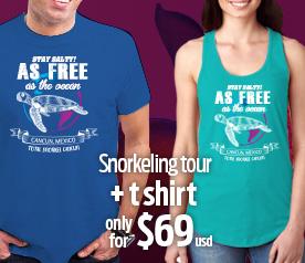 Snorkeling Tour + T-shirt