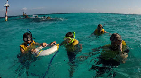 Snorkeling For Non-Swimmers In Cancun