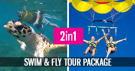 Swim and Fly Tour Package
