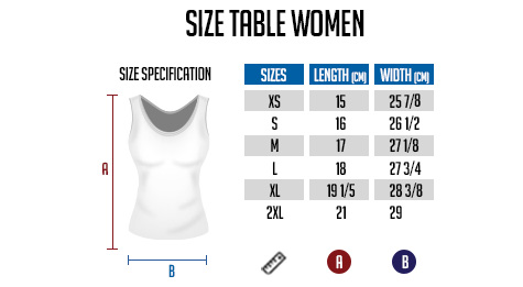 T-shirt size for men