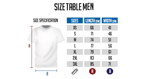 T-shirt size for women