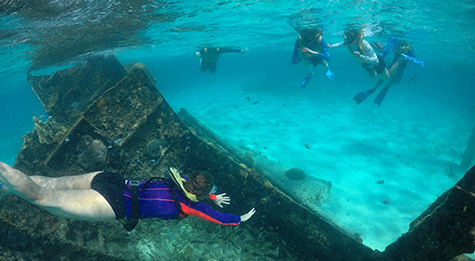 Shipwreck Cancun Snorkeling Tour
