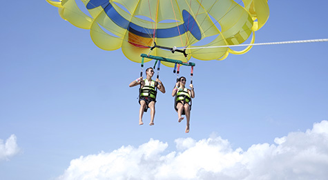 Parasail flight