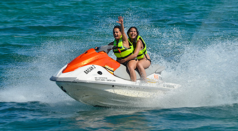Fun riding a waverunner for 30 minutes