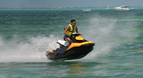 Live sensational moments riding waves