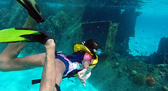 Explore the Shipwreck in Cancun