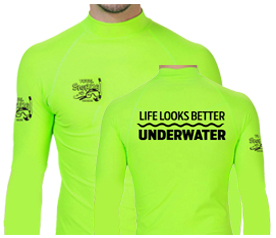 Unisex Long- Sleeve Skin Rash Guard